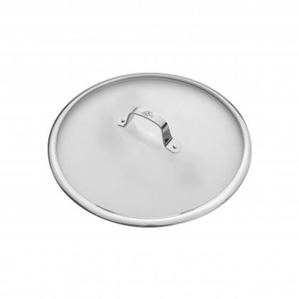 ΚΑΠΑΚΙ BALLARINI SG66 | Γυαλινο καπακι 28cm. με μεταλλικο χερουλι | SALINA