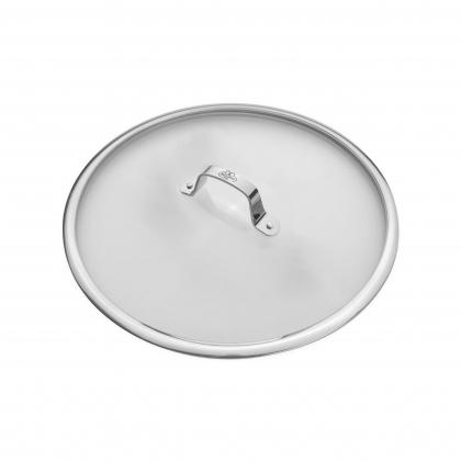 ΚΑΠΑΚΙ BALLARINI SG67 | Γυαλινο καπακι 30cm. με μεταλλικο χερουλι | SALINA