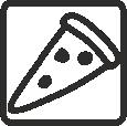 Pizza Oven – ενεργοποίηση κάτω αντίστασης και κυκλοφορία θερμού αέρα με την ταυτόχρονη λειτουργία της κυκλικής αντίστασης στην πλάτη του θαλάμου και του ανεμιστήρα